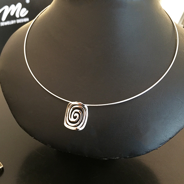 CIRCLE OF LIFE silverhalsband Truly Me