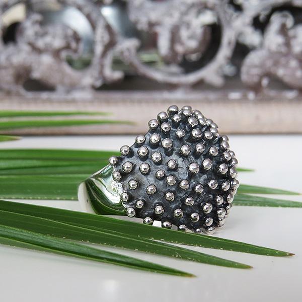 HEDGEHOG silverring Truly Me Jewelry Design