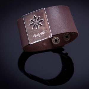PENNY LANE brown leather bracelet (Truly Me)
