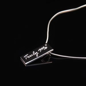 PURE short silver necklace (Truly Me)