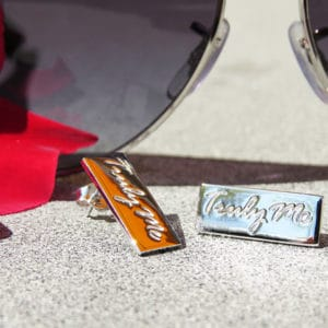 PURE silverörhängen i stilren design