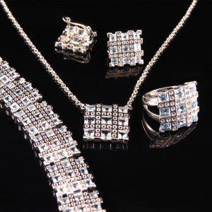 RIBBON smycken blå Truly Me