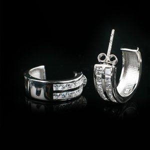 WISDOM silverörhängen klassikt stilrena (Truly Me Jewelry Design)
