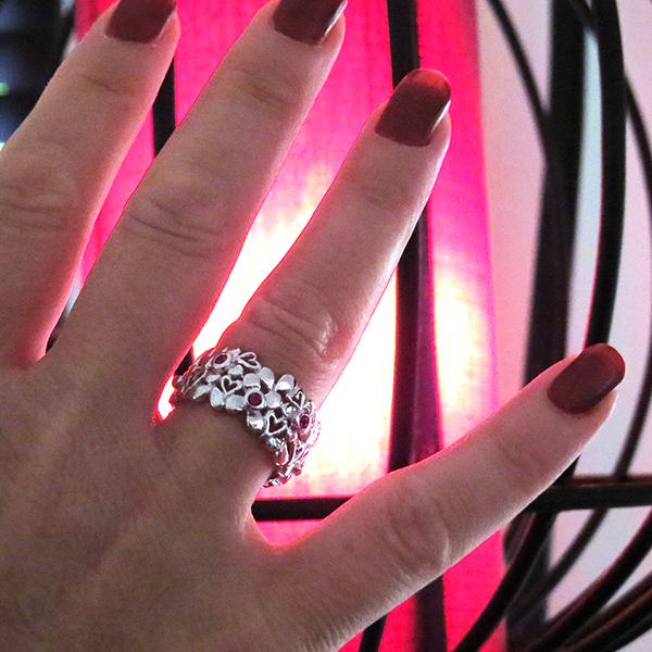 DAISY silverring ring smycken Truly Me