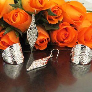 Rosor silversmycken Truly Me