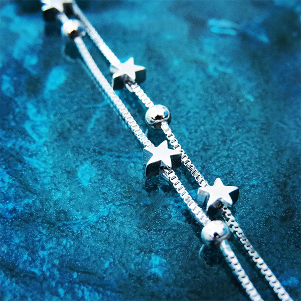 SKY silverarmband med stjärnor (Truly Me)