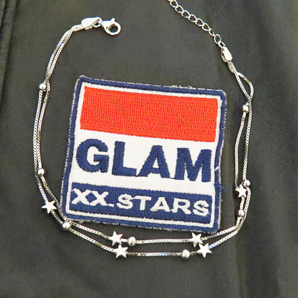 SKY silver bracelet with stars (Truly Me)