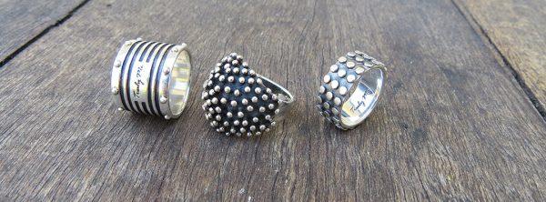 designade silversmycken